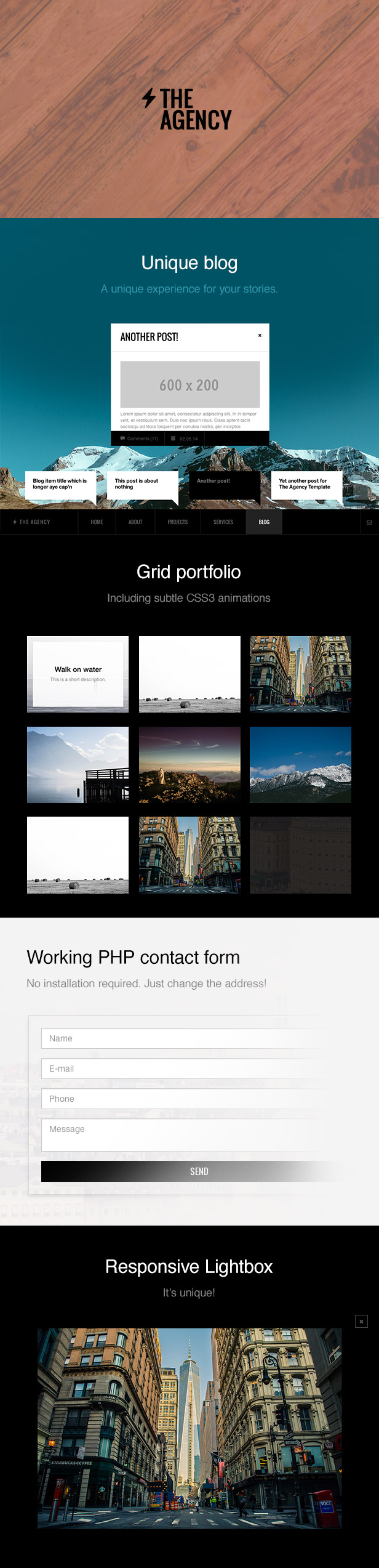 The Agency - A Responsive Agency Template