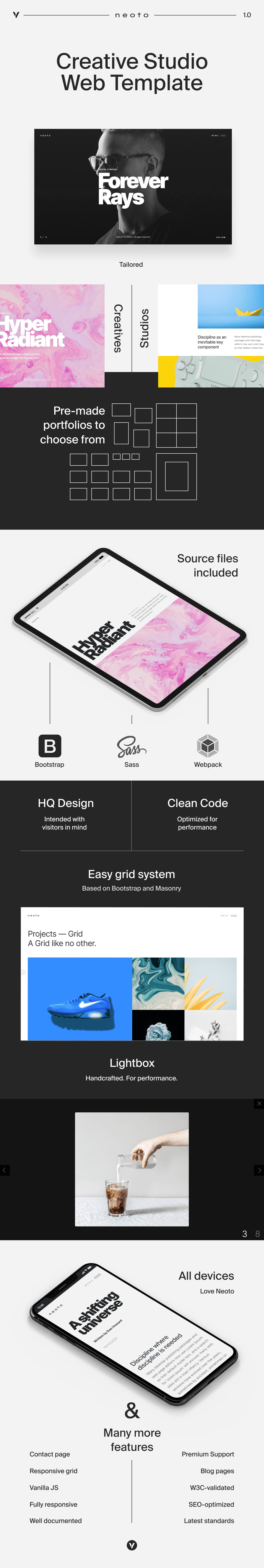 Neoto - Creative Studio Portfolio Template